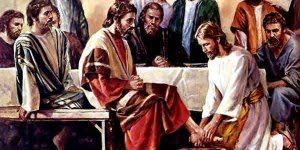 Dia 29 de Março Última ceia e lava pés - Jesus revelou Amor em Plenitude!