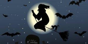 Feliz Halloween! Que todos feitiços virem contra os feiticeiros!!!