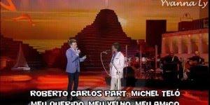 Homenagem para dia dos pais com Roberto Carlos e Michel Teló!