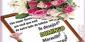 Vídeo de mensagem de Bom Domingo para amigos evangélicos! Que Deus te abençoe!!!