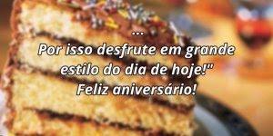 Mensagem de aniversario Facebook, para alegrar esse dia especial!