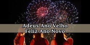 Mensagem de Ano Novo com musica. Adeus ano velho, feliz ano novo...