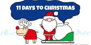 11 Dias para a chegada do Natal! A data mais especial do ano esta chegando!!!