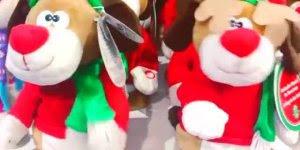 Bichinhos de pelúcias de Natal já estão disponíveis nas lojas!