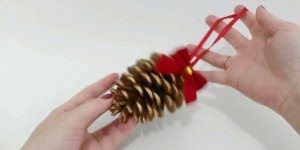 Enfeites de Natal para você fazer com pinhas, vale a pena conferir!!!