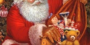 Imagens de Natal com Papai Noel, para compartilhar no Facebook!