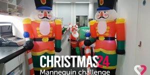 Manequim Challenge de Natal, para você inspirar e fazer o seu!
