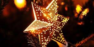 Mensagem de Feliz Natal! Desejo um Natal brilhante e iluminado para vocês!!!