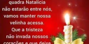 Mensagem de Natal para aqueles que não estarão presentes em vida no Natal!