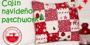 Tutorial de capas de almofadas com tema de Natal, simplesmente linda!!!