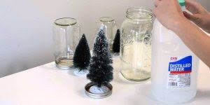 Vídeo com lembrancinhas de Natal feito com vidros de conserva!!!