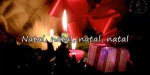 Vídeo com mensagem de Feliz Natal para Whatsapp, com música Primeiro Natal!