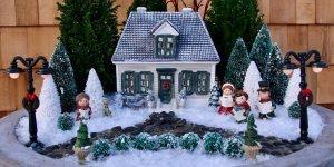 Vídeo com mini jardim com tema de Natal, olha só que charme!!!