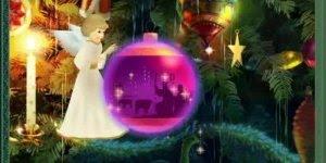 Vídeo com o anjo do Natal vindo anunciar o nascimento de Jesus!