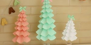 Vídeo de artesanato para o Natal! Veja só que arvore lindinha para decorar!!!