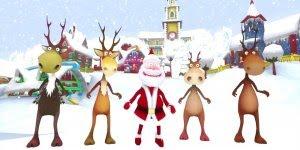 Vídeo de Feliz Natal animado para os amigos! Vamos comemorar é Natal!!!