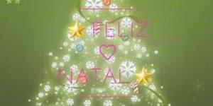 Vídeo de feliz natal para compartilhar no Feed de notícias do Facebook!
