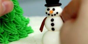 Video de natal com bolo lindo, veja que super ideia para enfeitar sua ceia!