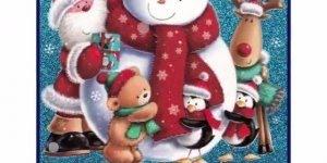 Vídeo de Natal com canção e imagens natalinas, para compartilhar no Facebook!