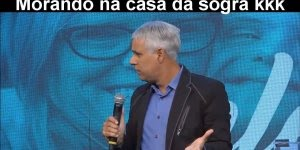 Pastor Claudio Duarte falando como é morar com parentes, confira!!!