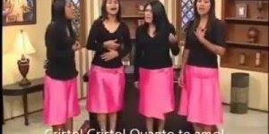 Quarteto feminino da Bolívia adorando a Cristo, muito lindo!