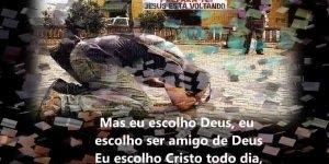 Vídeo com linda musica de Thalles Roberto Eu Escolho Deus, confira!