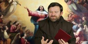 Frei Claudiano Lima - Nossa Senhora subiu ao céu, Ela é a porta do céu!