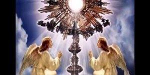 Linda musica Eu sou o pão que vem do céu, que Deus abençoe a todos!!!