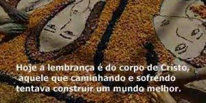 Mensagem para semana de Corpus Christi na voz de Cid Moreira!!!