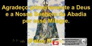 Vídeo com música Milagres de Nossa Senhora, baseada em fatos reais!
