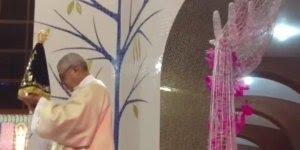 Vídeo de Nossa Senhora Aparecida, preparação para o grande Festa de outubro!!!