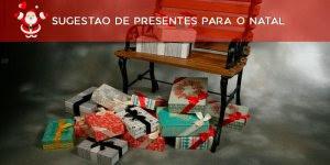 Sugestão de presentes para o Natal. Não dê presentes, dê amor e carinho!!!