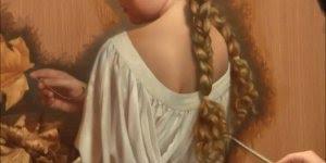 Aplicando veladura em uma pintura, veja que resultado incrível!