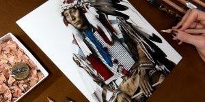 Arte de desenhar com riquezas de detalhes impressionantes!!!