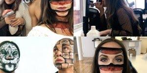 Arte de desenhar no rosto de forma assustadora e criativa, confira!!!