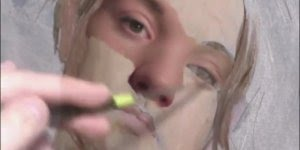 Arte de pintar de forma divina, vale a pena conferir esta vídeo!!!