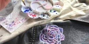 Arte de pintar em roupas, uma atividade que faz toda diferença!!!