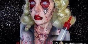 Arte de pintar o corpo e transforma-lo em obras de arte aterrorizante!!!
