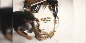 Artista faz retratos 3D utilizando todo tipo de objeto, confira!