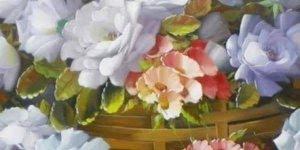 As mais belas artes de Jorge Maciel, veja a riqueza de detalhes em cada pétala!