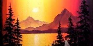 Desenho de paisagem belíssimo, vale a pena conferir esta arte!!!