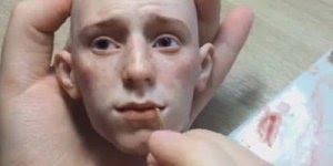 Miniatura de uma cabeça humana, o resultado impressiona com tanta perfeição!