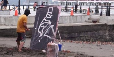Obra de arte de rua, confira o que esse pintor mascarado é capaz de fazer!