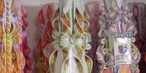 Obras de Artes feitas com velas, veja que trabalho impressionante!
