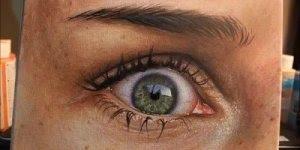 Pintura realista, que mais parece uma foto de tão perfeita, confira!!!