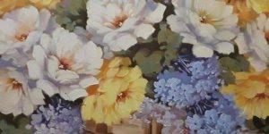 Vídeo com lindas fotos de quadros com flores, olha só que perfeição!!!