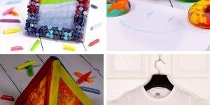 4 Ideias para fazer com lápis de cera, escolha a mais legal e mãos a obra!