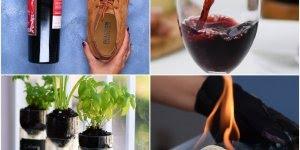 7 Ideias para fazer com garrafas, escolha a que você irá fazer hoje!