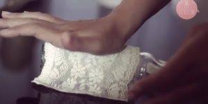 Aprenda a fazer uma linda garrafa para decorar seu casamento!