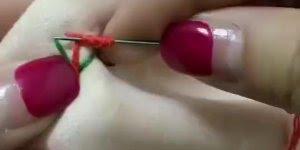 Aprenda a fazer vários pontos de costura á mão, muito legal!